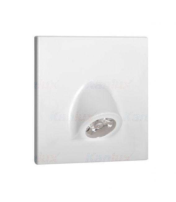 0.7W LED Įmontuojamas šviestuvas MEFIS White 3000K 32494