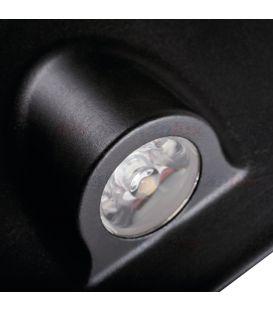 0.7W LED Įmontuojamas šviestuvas MEFIS Black 3000K 32496