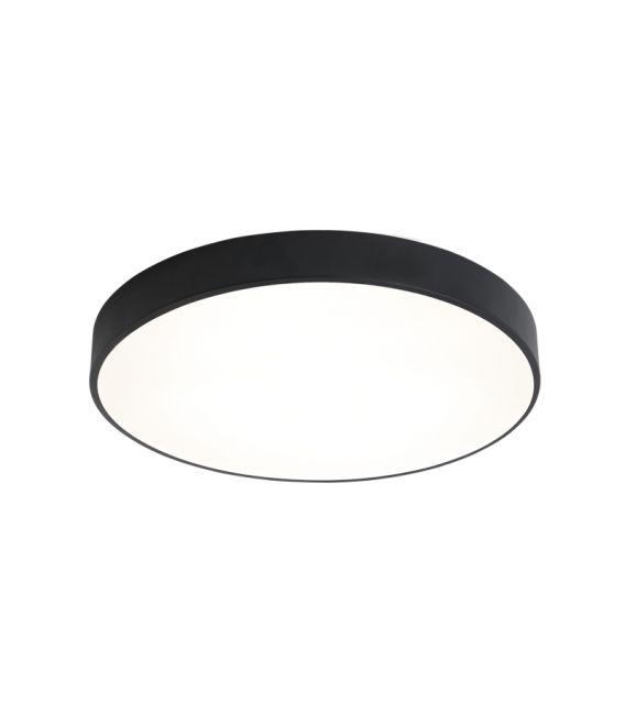 22W LED Lubinis šviestuvas LONDON Black Ø40 3000K P376040N