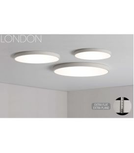 42W LED Lubinis šviestuvas LONDON White Ø60 3000K P376060B