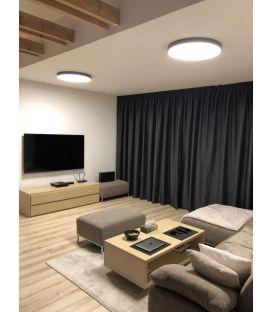 42W LED Lubinis šviestuvas LONDON Black Ø60 3000K P376060N