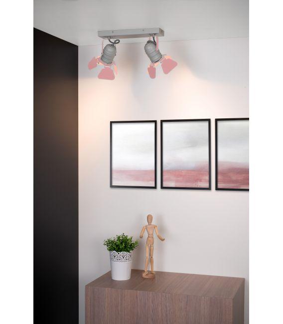 Lubinis šviestuvas PICTO 2 Pink 17997/02/66