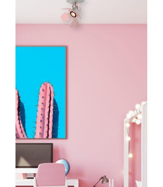 Lubinis šviestuvas PICTO Pink 17997/01/66