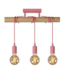 Pakabinamas šviestuvas POLA 3 Pink 08127/03/66
