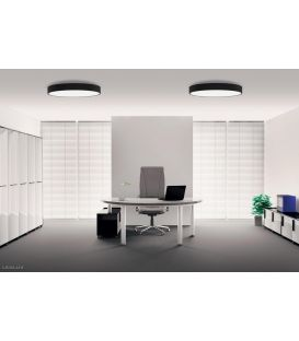 55W LED Lubinis šviestuvas ISIA Black Ø60 P345360N