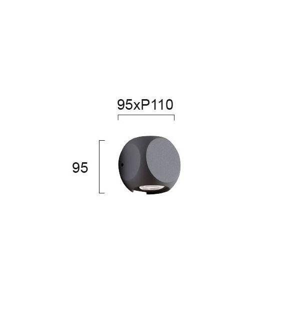 4W LED Sieninis šviestuvas BALLITO IP54 4210901