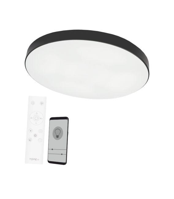 96W LED Lubinis šviestuvas BOSTON Ø60 Black Dimeriuojamas 6004000085