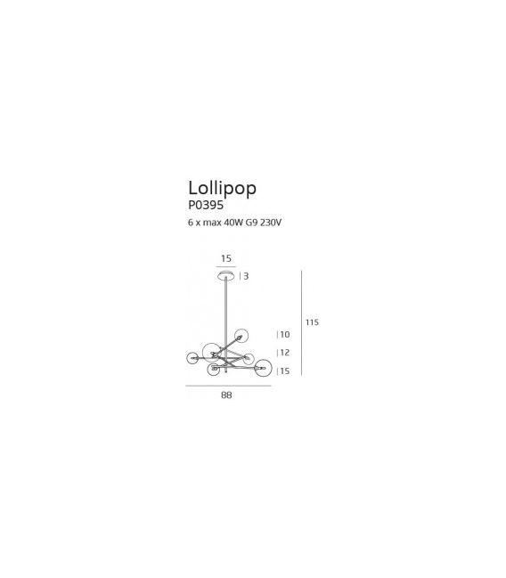 Pakabinamas šviestuvas LOLLIPOP P0395