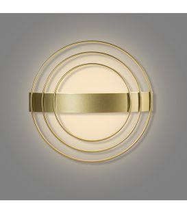 12.5W LED Sieninis šviestuvas RINGO Gold Ø35.5 A38130O