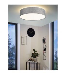 42W LED Lubinis šviestuvas EGLO CONNECT ROMAO-C Grey Ø76 98669