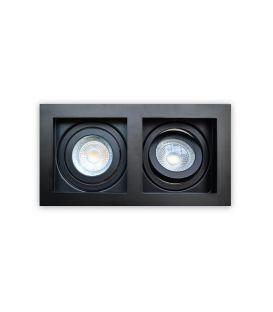 Įmontuojamas šviestuvas GRID 2 Black DL-GRID2BB