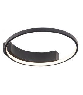 25W LED Lubinis šviestuvas VELVET Black Ø40 C0199