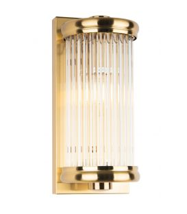 Sieninis šviestuvas NEW YORK Brass W0271