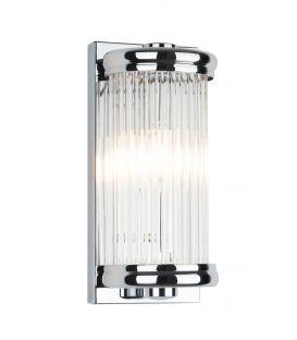 Sieninis šviestuvas NEW YORK Chrome W0270