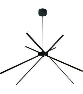 33W LED Pakabinamas šviestuvas SPIDER Black P0412