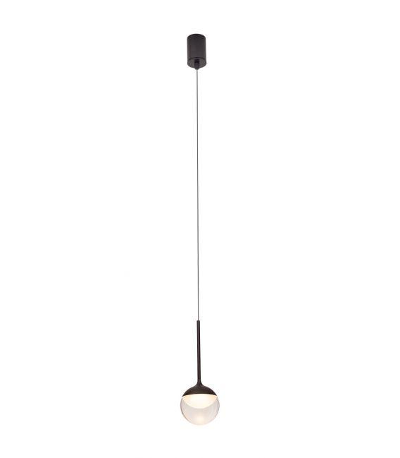 6W LED Pakabinamas šviestuvas ZOOM Black IP44 P0416