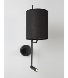Sieninis šviestuvas YAMA Black 9180512
