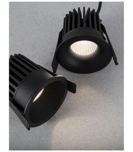 9W LED Įmontuojamas šviestuvas PETIT Black IP42 9844012