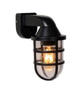 Sieninis šviestuvas LEWIS Black IP44 29899/01/30