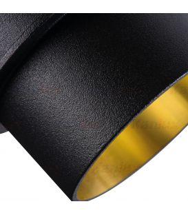 Įmontuojamas šviestuvas SPAG Black/Gold Ø6.8 27322