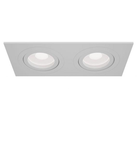 Įmontuojamas šviestuvas ATOM White DL024-2-02W