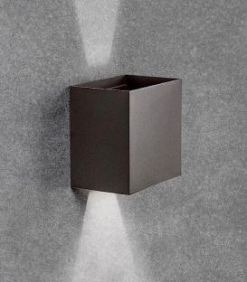 20W LED Sieninis šviestuvas DAVOS XL Black IP65 7437