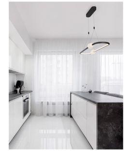 44.2W LED Pakabinamas šviestuvas CELIA Black Dimeriuojamas 9820603