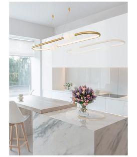 44.2W LED Pakabinamas šviestuvas CELIA Gold Dimeriuojamas 9820602