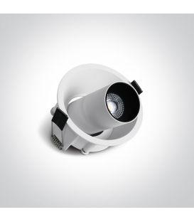 7W LED Įmontuojamas šviestuvas DIMERIUOJAMAS 11107C/W/W