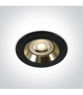 Įmontuojamas šviestuvas DUAL RING Black 10105ALG/B/GL
