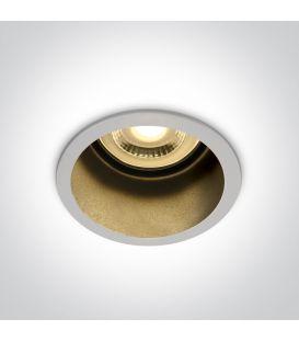 Įmontuojamas šviestuvas SEMI TRIMLESS White 10105D8/W/B