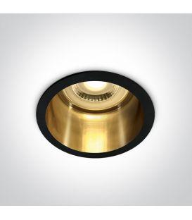 Įmontuojamas šviestuvas SEMI TRIMLESS Black 10105D8/B/GL