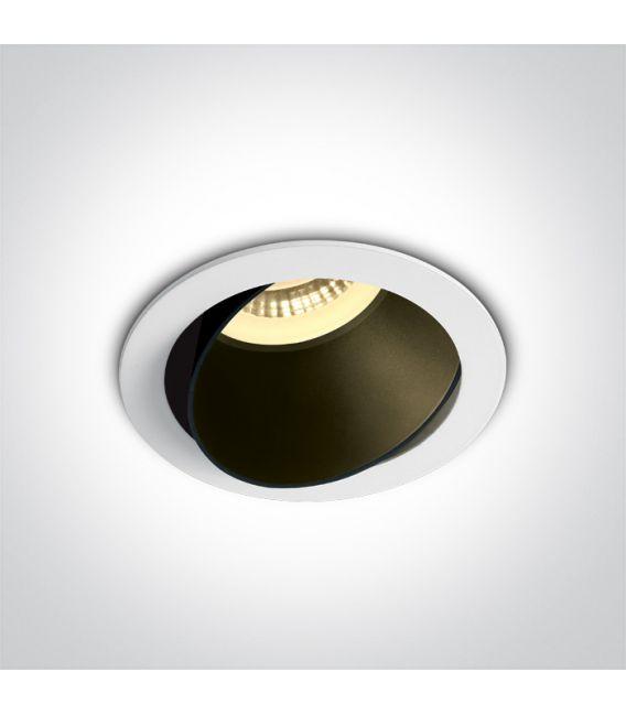 Įmontuojamas šviestuvas  White 11105M/W/B