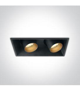 22W LED Įmontuojamas šviestuvas Black 51211C/B/W