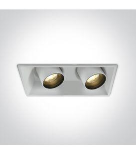 22W LED Įmontuojamas šviestuvas White 51211C/W/W