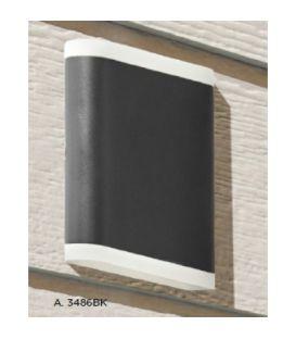 8W LED Sieninis šviestuvas OUTDOOR IP44 3486BK