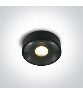 6W LED Lubinis šviestuvas IP65 Black 67484/B/W