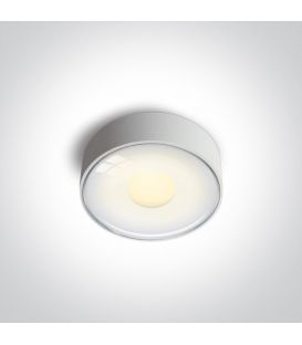 6W LED Lubinis šviestuvas IP65 White 67484/W/W