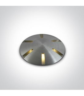 1W LED Įmontuojamas šviestuvas IP67 69044/AL/W