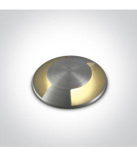 1W LED Įmontuojamas šviestuvas IP67 69042B/AL/W