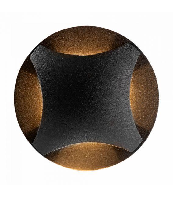 3W LED įmontuojamas šviestuvas BISCOTTI Black IP65 O036-L3B3K