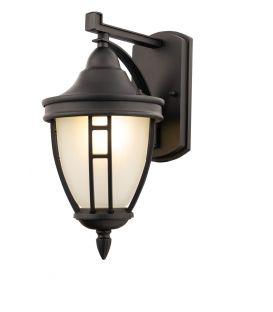 Sieninis šviestuvas RIVOLI Black IP44 O027WL-01B