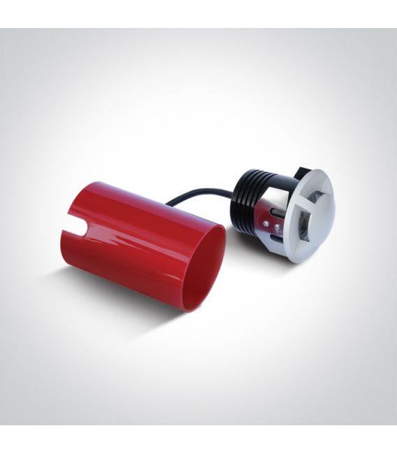 3W LED Įmontuojamas šviestuvas IP67 69016A/W