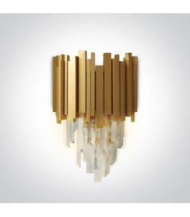 Sieninis šviestuvas LUXURY Gold 60132
