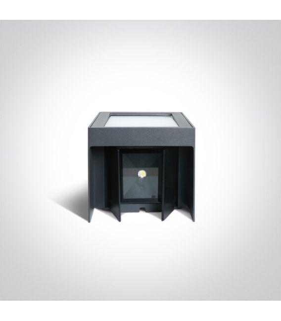 11W LED Sieninis šviestuvas Anthracite IP54 67440A/AN/W