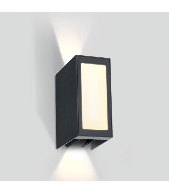 9W LED Sieninis šviestuvas Anthracite IP54 67440/AN/W