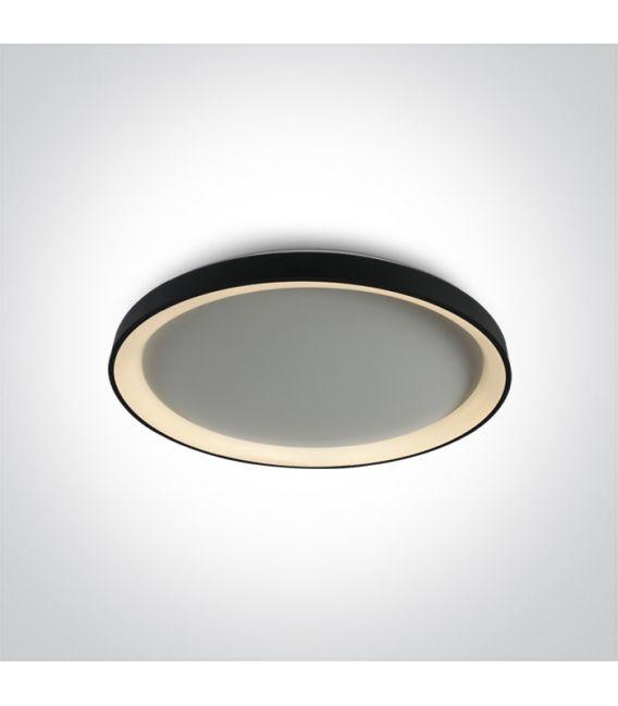 48W LED Lubinis šviestuvas Black Ø58 62148L/B/W