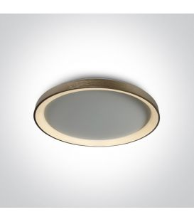 48W LED Lubinis šviestuvas Brushed Brass Ø58 62148L/BBS/W