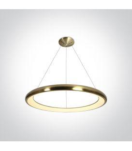 50W LED Pakabinamas šviestuvas Brushed Brass Ø61 62144NB/BGL/W