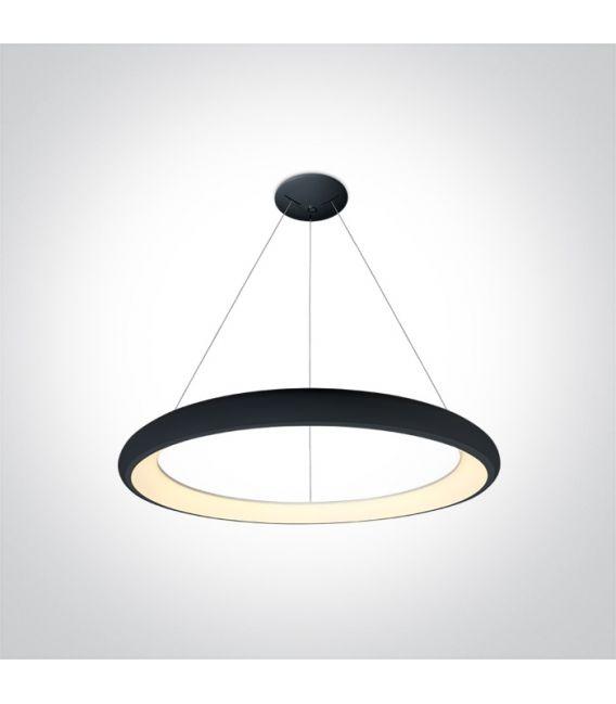 50W LED Pakabinamas šviestuvas Black Ø61 62144NB/B/W